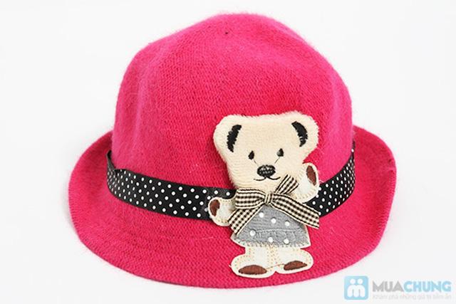 Đáng yêu với nón gấu kiểu Hàn Quốc cực kỳ dễ thương cho bé - Chỉ 80.000đ - 5