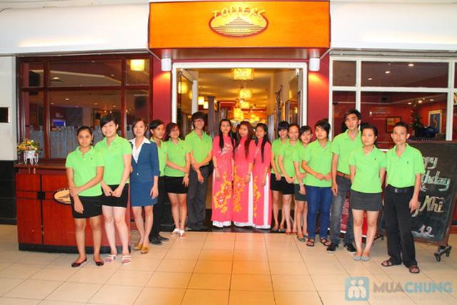 Buffet tối (2, 3, 4, 5) với các món Âu, Việt, Thái tại Nhà hàng Toppers - Chỉ 198.000đ/ 01 người - 31