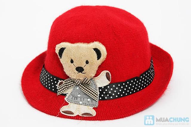 Đáng yêu với nón gấu kiểu Hàn Quốc cực kỳ dễ thương cho bé - Chỉ 80.000đ - 3
