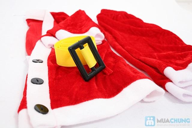 Bộ quần áo ông già Noel bằng vải nhung cho bé vui Giáng sinh - Chỉ 77.000đ/01 bộ - 3