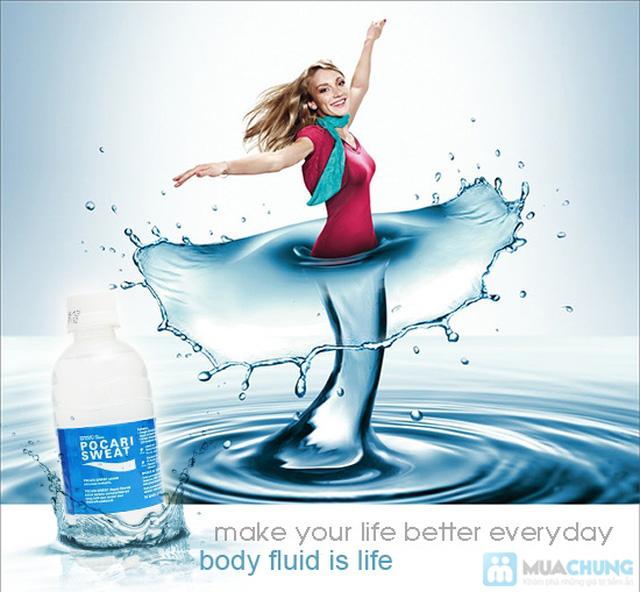 Nước uống Pocari Sweat 350ml - Thùng 24 chai. Chỉ 192.000đ - 2