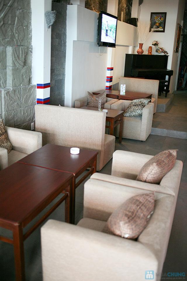 Set ăn 1 phần kem + 1 phần thức ăn tự chọn  dành cho 01 người tại  Cà Phê Tapu - Chỉ 55.000đ - 10
