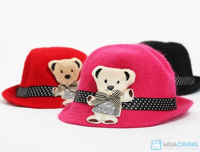 Đáng yêu với nón gấu kiểu cực kỳ dễ thương cho bé - Chỉ 80.000đ - 2