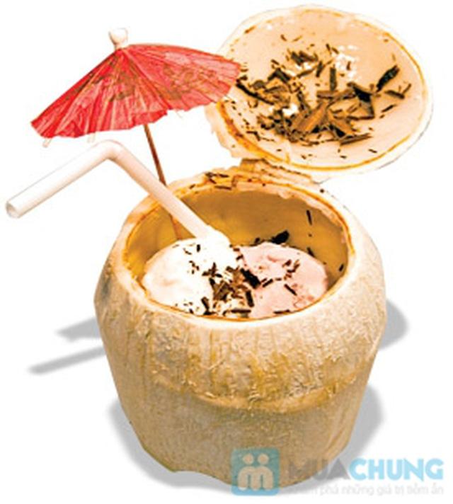 Set ăn 1 phần kem + 1 phần thức ăn tự chọn  dành cho 01 người tại  Cà Phê Tapu - Chỉ 55.000đ - 2