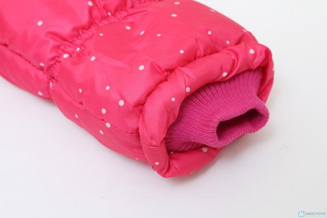 Aó phao lót lông ấm áp cho bé gái - 9