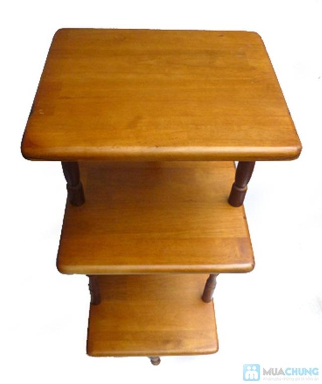 Phiếu mua kệ gỗ 3 tầng kiểu dáng cổ điển từ Công ty Lĩnh Nam - Chỉ 260.000đ  - 2