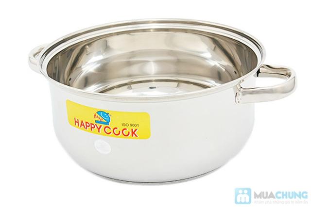 Bộ nồi + xửng hấp 2 trong 1 Happy Cook, món quà ý nghĩa cho việc nội trợ - Chỉ 285.000đ - 3