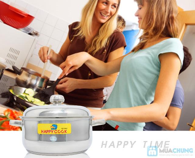 Bộ nồi + xửng hấp 2 trong 1 Happy Cook, món quà ý nghĩa cho việc nội trợ - Chỉ 285.000đ - 5