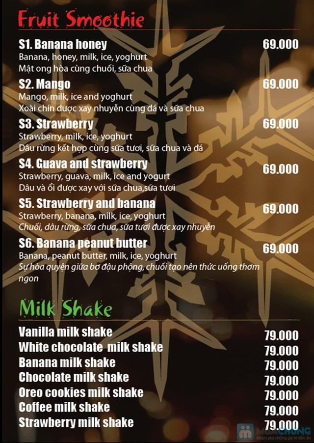 Thưởng thức các loại nước uống và bánh ngọt thơm ngon tại Khaisilk - That's Cafe - Chỉ 50.000đ được phiếu 100.000đ - 4