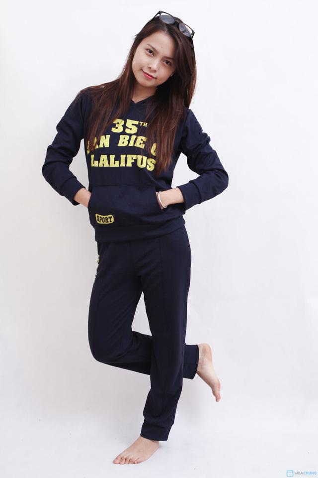 Bộ quần áo mặc nhà năng động và tinh nghịch cho bạn gái - 2