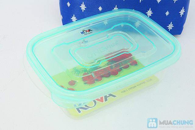 03 hộp nhựa Kova và Túi giữ nhiệt  -  Cho những bữa cơm trưa của bạn luôn nóng hổi - Chỉ 70.000đ/ 01 bộ - 4