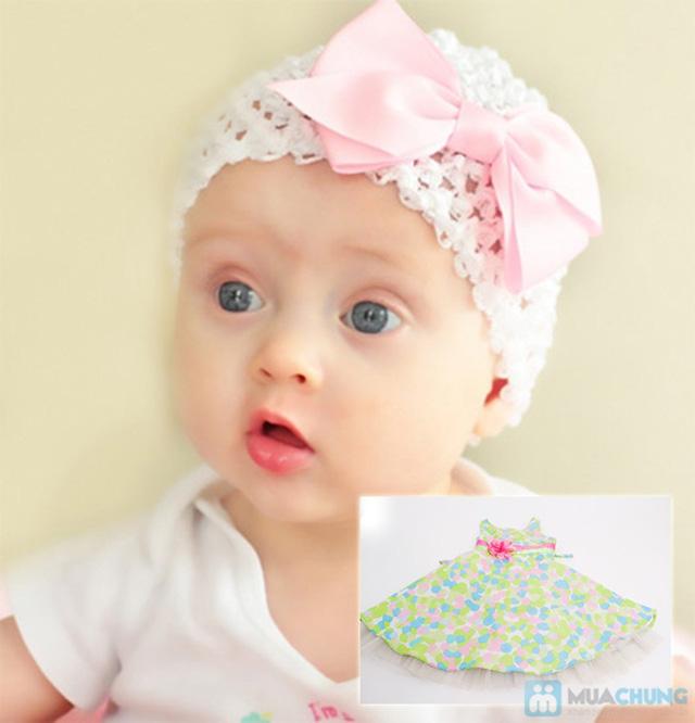 Đầm xinh cho bé -  Cho bé yêu nhà bạn xinh càng xinh thêm - Chỉ 85.000đ - 6