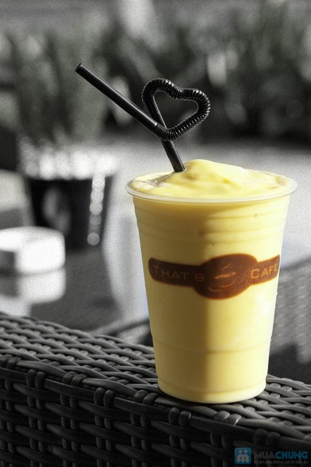 Thưởng thức các loại nước uống và bánh ngọt thơm ngon tại Khaisilk - That's Cafe - Chỉ 60.000đ được phiếu 100.000đ - 8