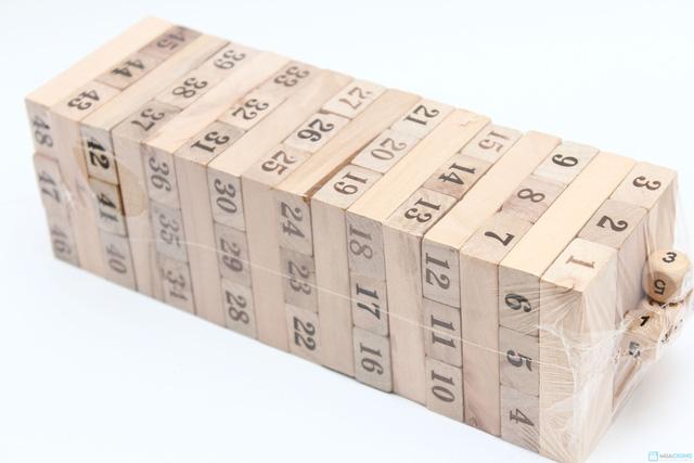 Bộ đồ chơi rút gỗ hấp dẫn - Thỏa thích vui chơi cùng bạn bè, người thân - Chỉ với 66.000đ - 3