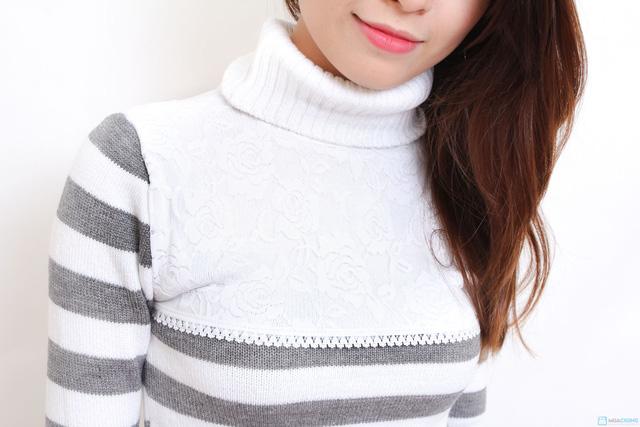 Áo len cao cổ pha ren - Chỉ với 125.000đ - 6