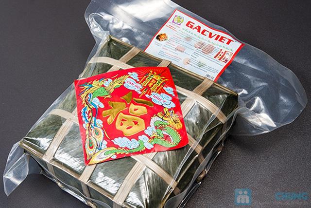 Bánh chưng gấc thơm ngon, độc đáo để tết này thêm vui và ý nghĩa - Chỉ 179.000đ/01 cặp (2 kg) - 1