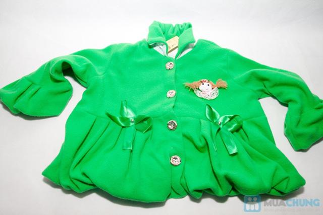 Áo khoác đính nơ xinh xắn cho bé gái - Chỉ 85.000đ/ 01 chiếc - 4