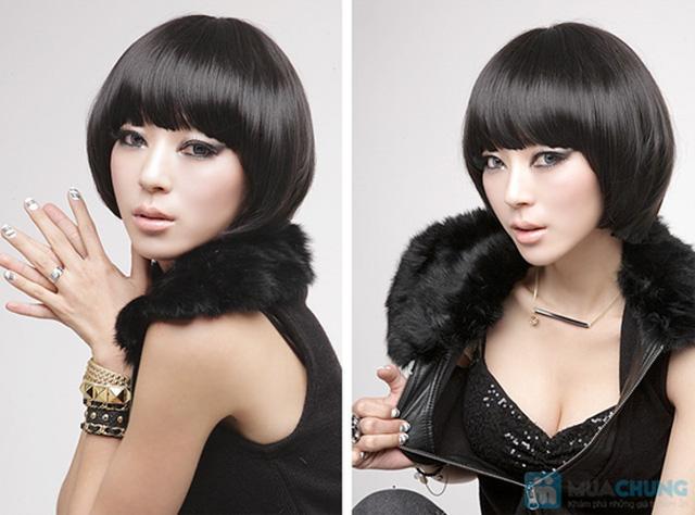 Cắt + Ép/ Nhuộm /Uốn tay, máy / + Hấp dầu tại salon tóc Hường Hà- Chỉ với 300.000 đ - 4