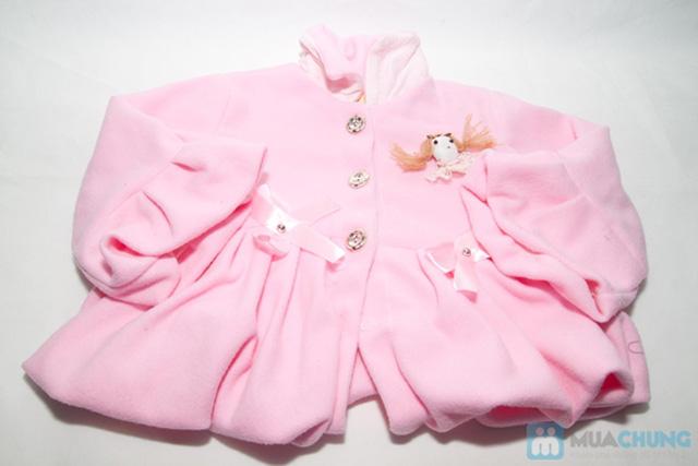 Áo khoác đính nơ xinh xắn cho bé gái - Chỉ 85.000đ/ 01 chiếc - 1