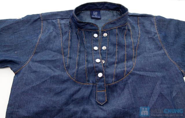 Đầm giả jeans cho bé gái - Chỉ 79.000đ - 2