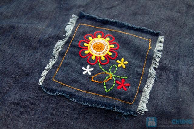 Đầm giả jeans cho bé gái - Chỉ 79.000đ - 3