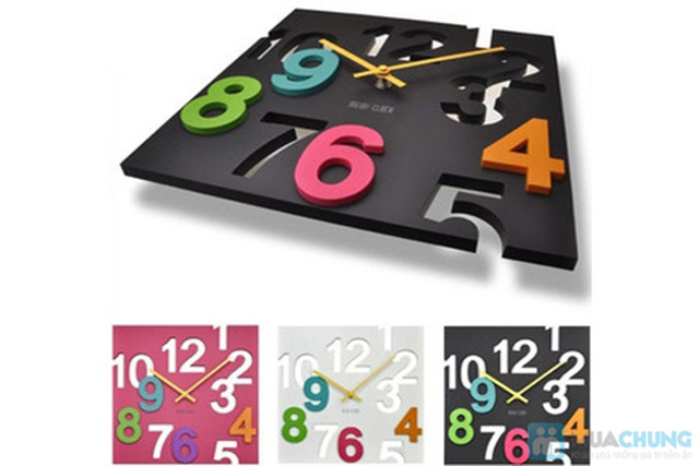 Đồng hồ 3D treo tường - Chỉ 130.000đ/01 Chiếc - 1