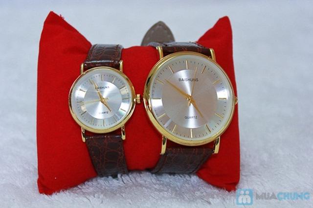 Đồng hồ đôi Baisuns - Món quà tuyệt vời cho tình yêu của bạn - Chỉ với 185.000đ/02 chiếc - 10