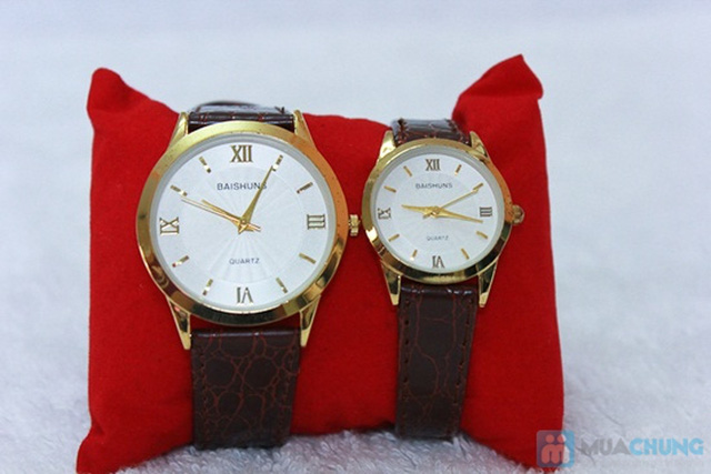 Đồng hồ đôi Baisuns - Món quà tuyệt vời cho tình yêu của bạn - Chỉ với 185.000đ/02 chiếc - 7