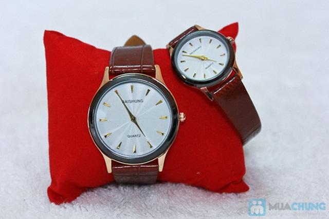 Đồng hồ đôi Baisuns - Món quà tuyệt vời cho tình yêu của bạn - Chỉ với 185.000đ/02 chiếc - 6