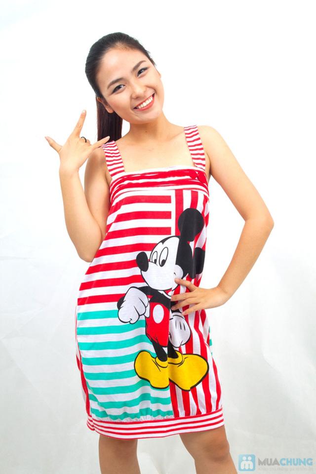 Đầm ngủ hoạt hình dễ thương - Chỉ 97.000đ/02 chiếc - 1