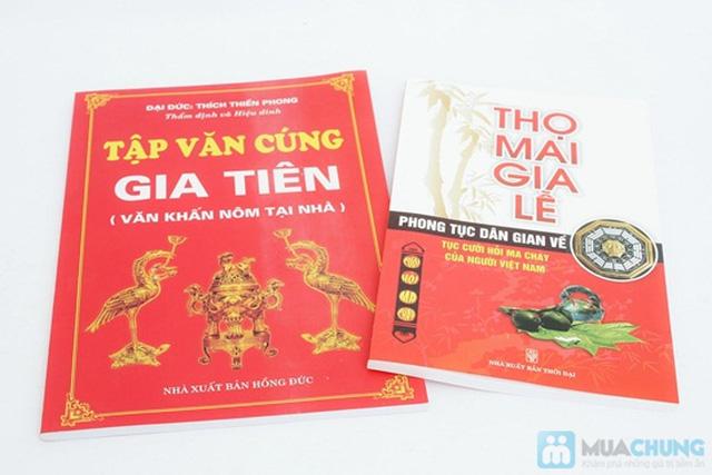 Tập văn cúng gia tiên + Thọ mai gia lễ - phong tục dân gian về cưới hỏi ma chay của người Việt Nam. Chỉ với 47.000đ - 1
