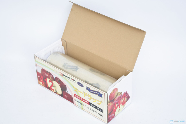 Màng bọc thực phẩm Food wrap - Bảo đảm thực phẩm an toàn và tươi lâu - Chỉ với 145.000đ - 2