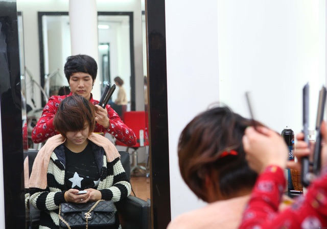 Uốn (nóng hoặc lạnh)/ nhuộm/ ép dành cho 01 người tại Siêu thị tóc New & Nice - Chỉ với 253.000đ - 4