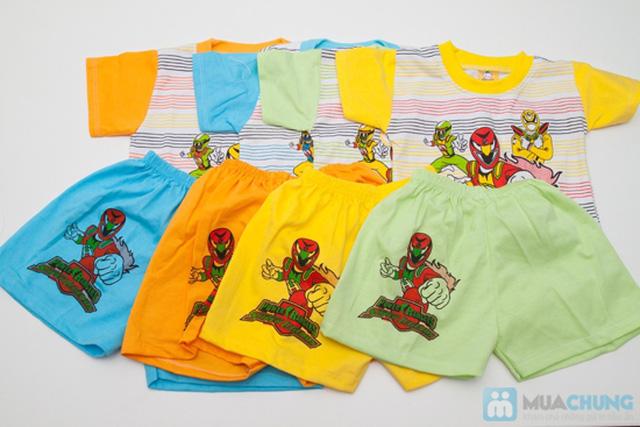 Combo 2 bộ đồ thun Siêu Nhân cho bé trai 1 tuổi - 9