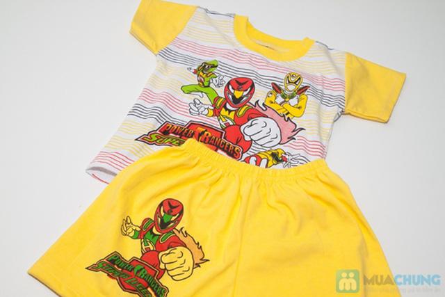 Combo 2 bộ đồ thun Siêu Nhân cho bé trai 1 tuổi - 2