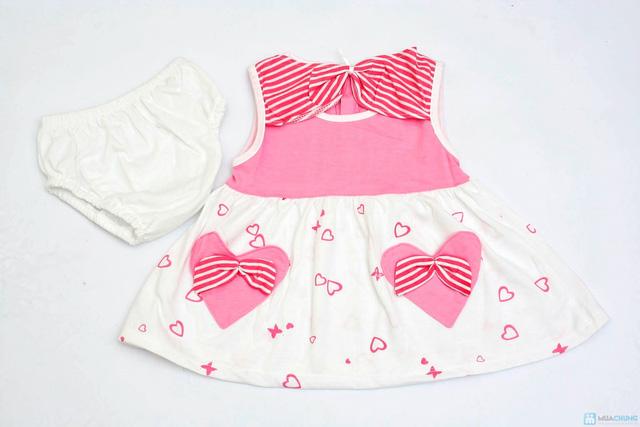 Váy kèm quần chip cho bé gái - 7