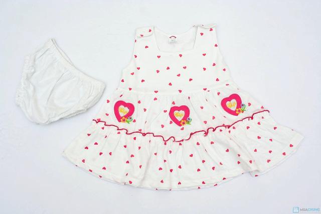 Váy kèm quần chip cho bé gái - 3