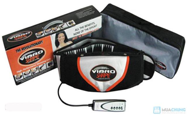 Vòng eo thon gọn quyến rũ với Đai Massage Bụng Giảm Béo Vibro Shape - Chỉ với 315.000đ - 2
