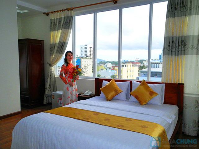 Khách sạn 3* Châu Loan Nha Trang, cách bãi tắm biển 50m. Phòng Superior kèm buffet sáng cho 2 người. Chỉ 450.000đ/đêm - 9