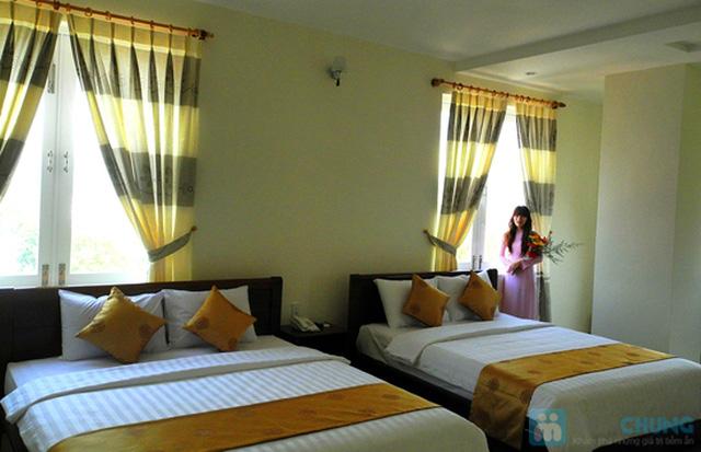 Khách sạn 3* Châu Loan Nha Trang, cách bãi tắm biển 50m. Phòng Superior kèm buffet sáng cho 2 người. Chỉ 450.000đ/đêm - 3