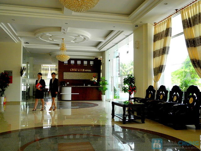 Khách sạn 3* Châu Loan Nha Trang, cách bãi tắm biển 50m. Phòng Superior kèm buffet sáng cho 2 người. Chỉ 450.000đ/đêm - 7