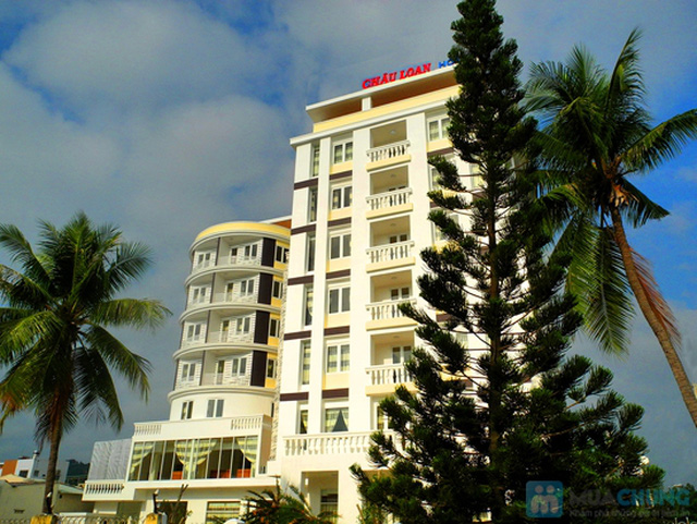 Khách sạn 3* Châu Loan Nha Trang, cách bãi tắm biển 50m. Phòng Superior kèm buffet sáng cho 2 người. Chỉ 450.000đ/đêm - 5