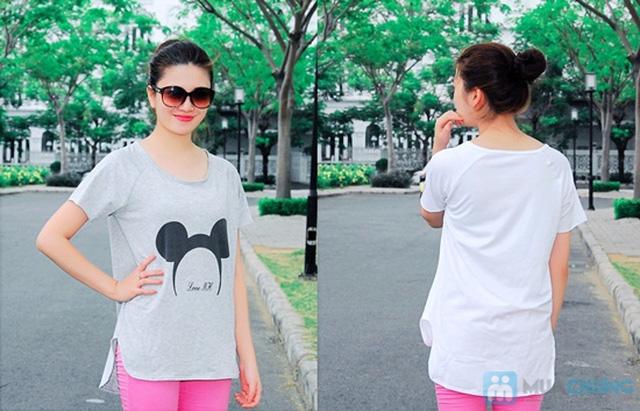 Áo thun hình chuột Mickey form rộng năng động cho nữ - Chỉ 95.000đ/01 chiếc - 6