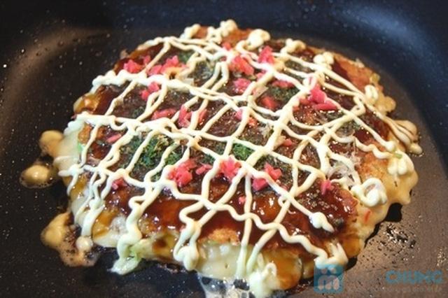 Thưởng thức Bánh xèo Nhật tại hà hàng SUSHI&BBQ HANCHAN - 2