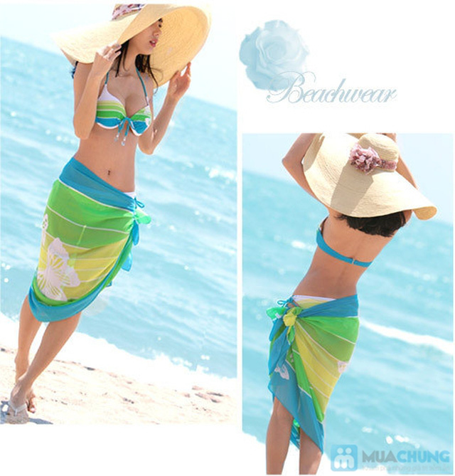 khăn tắm quấn đi biển cho bạn gái - 5