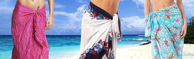 khăn tắm quấn đi biển cho bạn gái - 6