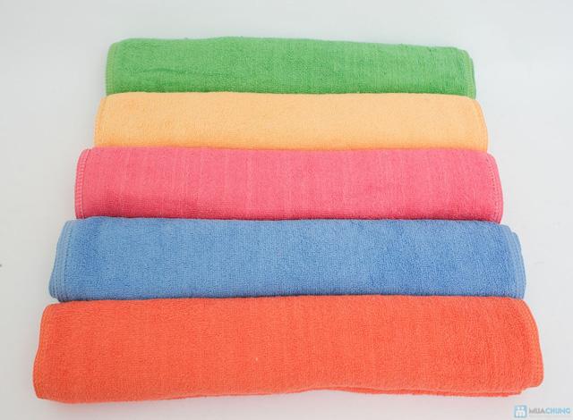 Combo 03 khăn tắm hè mềm mại - 4