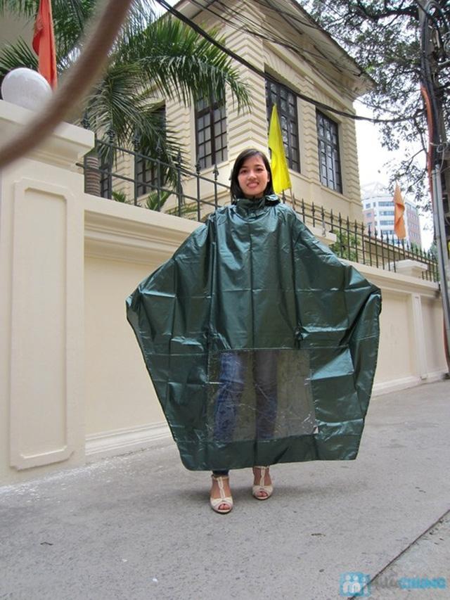Không lo bị ướt với combo 2  áo mưa cánh dơi - 3