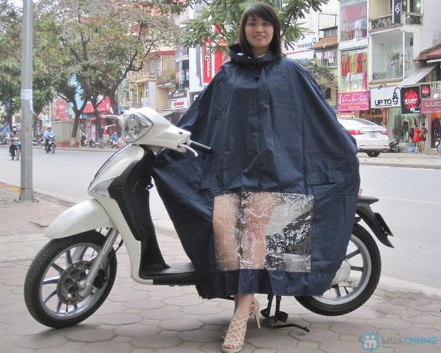 Không lo bị ướt với combo 2  áo mưa cánh dơi - 2