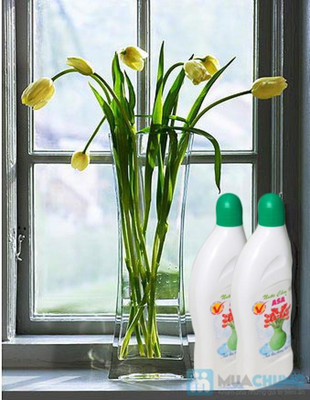 Nước cắm hoa giúp hoa tươi lâu, nước không thúi - Chỉ 60.000đ/ 03 chai - 1